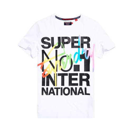 T-shirt Superdry Interlocked International Optic