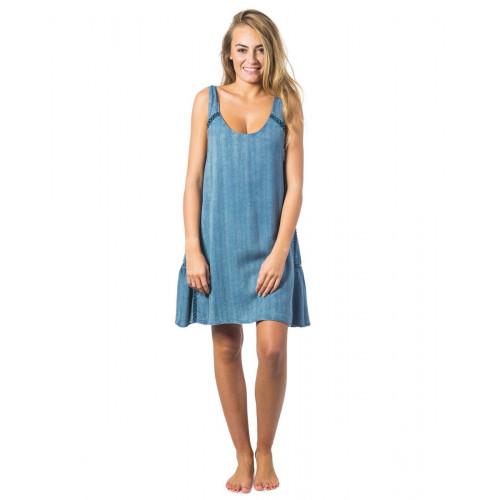 Robe Rip Curl Las Palmas Dress Light Blue
