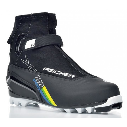 Chaussures Ski De Fond Xc Comfort Pro Blck Yellow