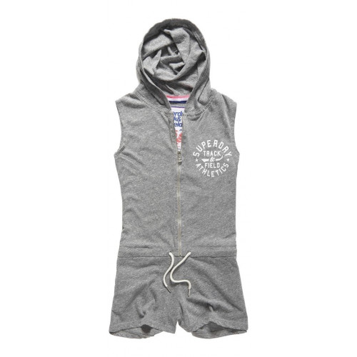 Combishort Superdry Track&Field Playsuit Soft M M