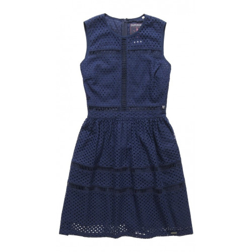 Robe Superdry Geo Lace Mix Skater Atlantic Navy