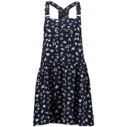 Robe Superdry Flippy Sail Dungaree Triangles Navy