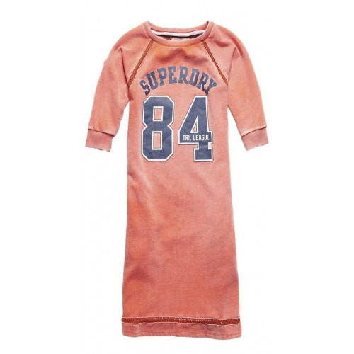 Robe Superdry Tri League Crew Bright Red