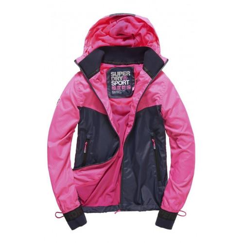 Veste Superdry Sport Stormbreaker Neon Pink/Ink