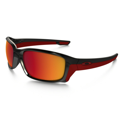Lunettes Oakley Straightlink Polished Black Torch Iridium Polarized