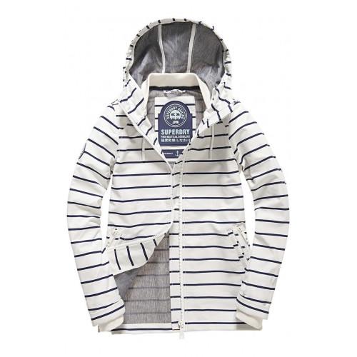 Veste Superdry Marina Jacket White/Navy Stripe