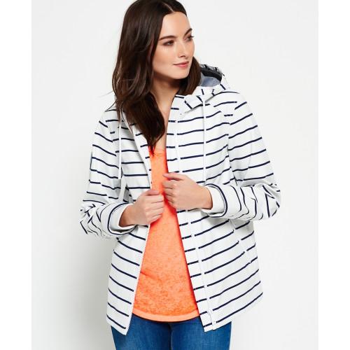 Veste Superdry Marina Jacket Whitenavy Stripe