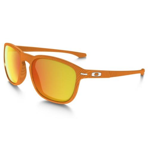 Lunettes Oakley Enduro Fingerprint Atomic Orange Fire Iridium