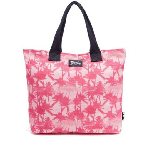 Sac Superdry Summer Time Tote Mermaid Palm Pink