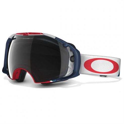 Masque de ski Oakley Airbrake Usa Olympic Black Iridium Persimon