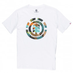 Tee-shirt Element Cut Out Icon SS Boy Optic White