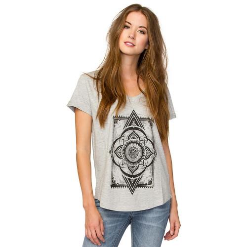 Tee-shirt Element Moroccan Rug Heather Grey