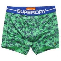 Boxer Superdry Hawaiian Sport Bright Green Palm