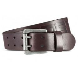 Ceinture Superdry Premium Leather Belt Brown