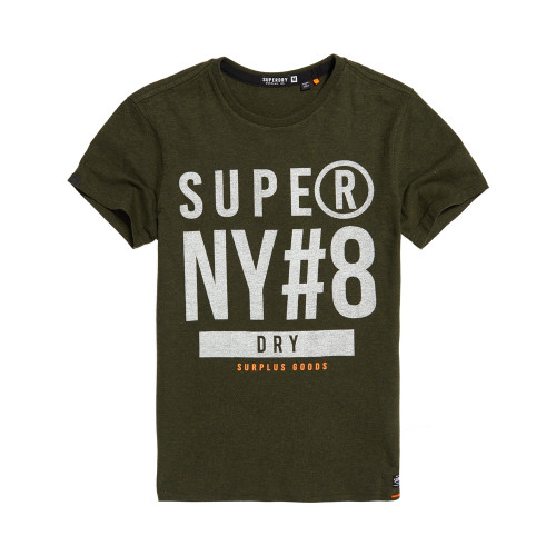 T-shirt Superdry Surplus Goods Graphic Khaki Grit