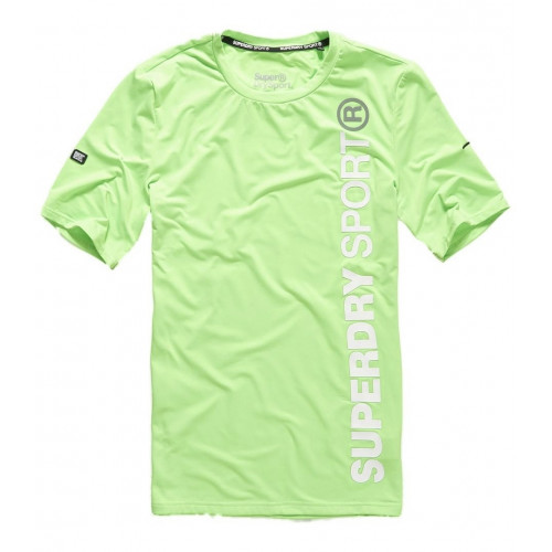 T-shirt Superdry Sports Athletic S/s Fluo Lime