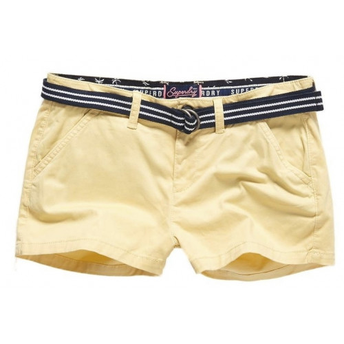 Short Superdry International Hot Pastel Lemon