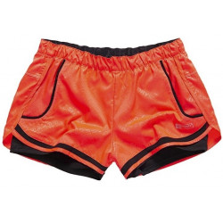 Short Superdry Sport Mesh Insert Shocking Red Sd