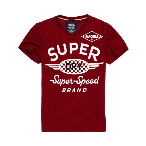 T-shirt Superdry Speed Brand Tee Redhook Grit