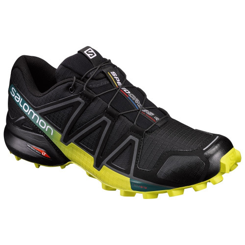 Chaussures Salomon Speedcross 4 Black Ever Sulphur