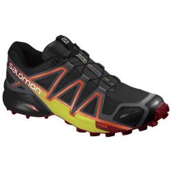 Chaussures Salomon Speedcross 4 Cs Bk Magnet Red