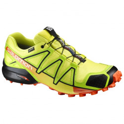 Chaussures Salomon Speedcross 4 Gtx Sulphure Lime
