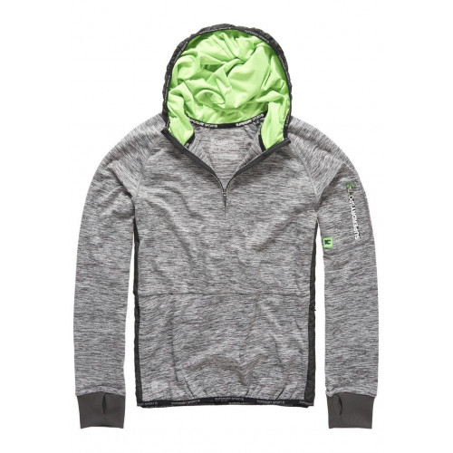 Sweat Superdry Sports Athletic Half Zip Steel Grey