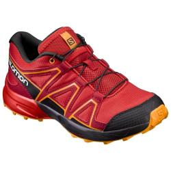 Chaussures Salomon Speedcross J Fiery Rd Bk Bright