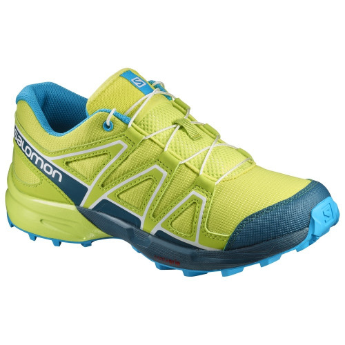 Chaussures Salomon Speedcross J Lime Punch Reflect