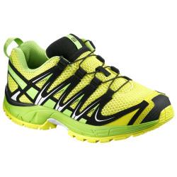 Chaussures Salomon Xa Pro 3d K Corona Yellow Gr Bk