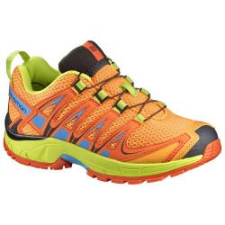 Chaussures Salomon Xa Pro 3d J Bright Mar Flame Li