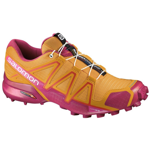Chaussures Salomon Speedcross 4 W Bright Mar Sangria