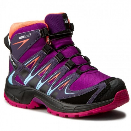 Chaussures Salomon Xa Pro 3D Mid Cswp J Passion Purple