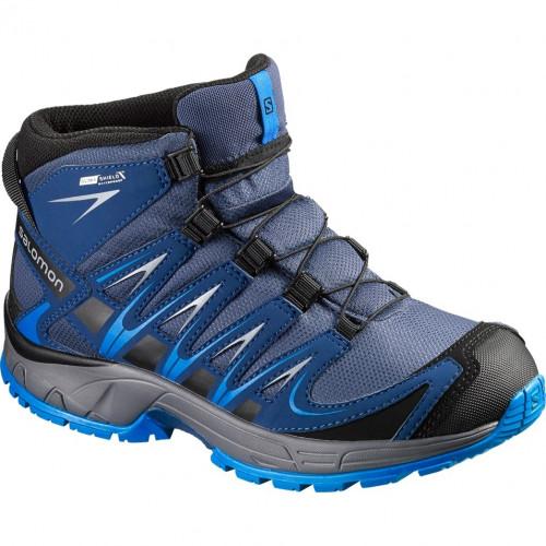 Chaussures Salomon Xa Pro 3D Mid Cswp J Slateblue