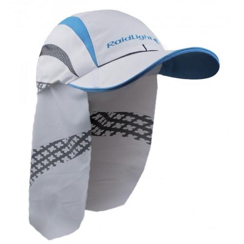 Casquette Raidlight SAHARA CAP White Electric Blue