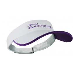 Visière Raidlight R-Sun White/Purple