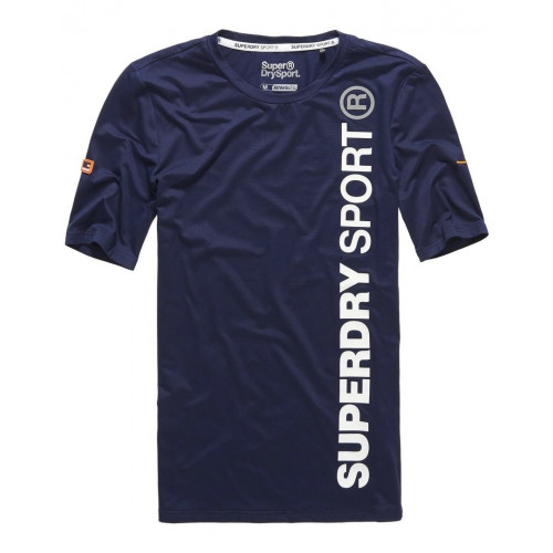 T-shirt Superdry Sports Athletic S/s Rich Navy