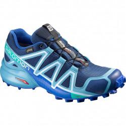 Chaussures Salomon Speedcross 4 Gtx W Blue Depth