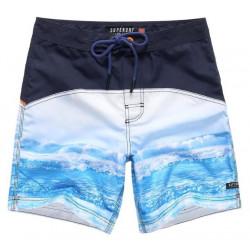 Short de Bain Superdry Surplus Goods Photo Swim Navy