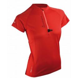 T-shirt Raidlight Activerun Lady Piment/Pink