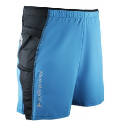 Short Raidlight Short Trail Raider Electrique Blue