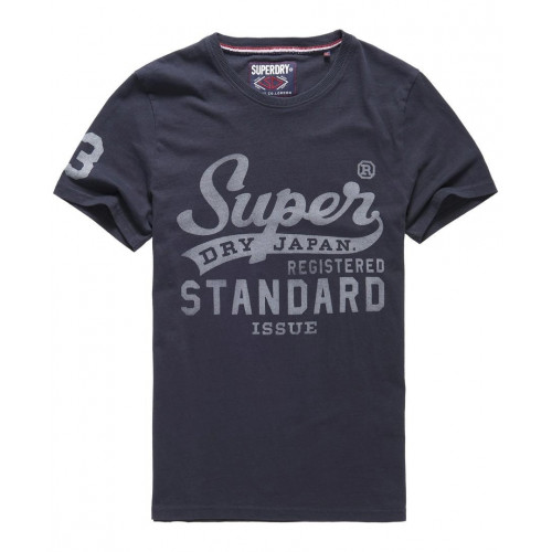 T-shirt Superdry Standard Issue Tee Eclipse Navy