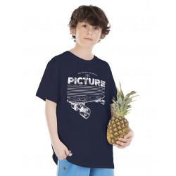 Tee-shirt Picture Organic Santa Monica Dark Blue
