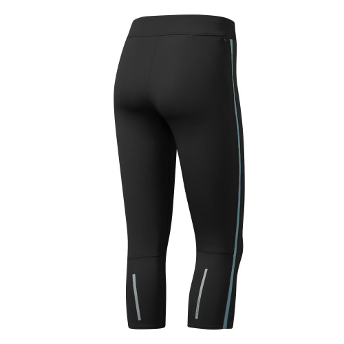 Collant Adidas Tight Response 3/4 Noir /Clear Aqua