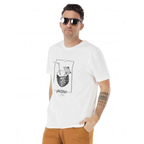 Tee-shirt Picture Organic Dad&Son Cocobeach White
