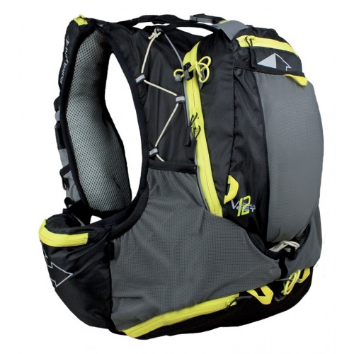 Sac A Dos Raidlight Ultra Olmo Vest 12l Blk Yellow