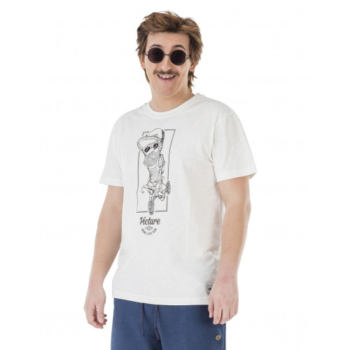 Tee-shirt Picture Organic Bicycle White