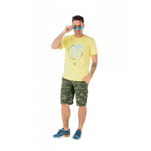 Tee-shirt Picture Organic Borabora Pale Yellow