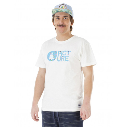 Tee-shirt Picture Organic Basement Surfer White
