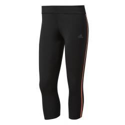 Collant Adidas Tight Response 3/4 Noir/Easy Orange